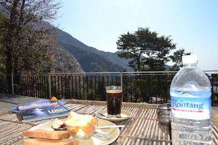 Mic dejun la Sky Pie Dharamsala - Mica Lhasa