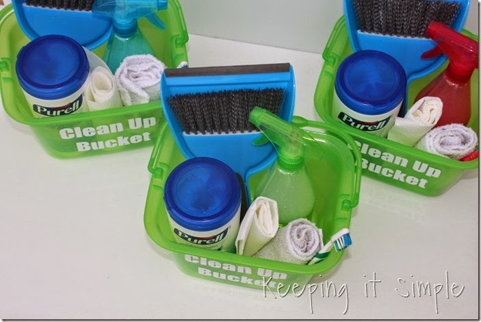 #ad Individual-Kids-Clean-Up-Buckets #PurellWipes (5)