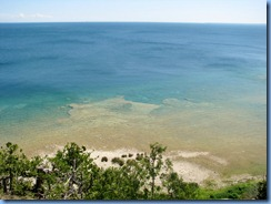 3371 Michigan Mackinac Island - Carriage Tours - view from the lookout at Arch Rock