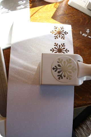 snowflake paper punch