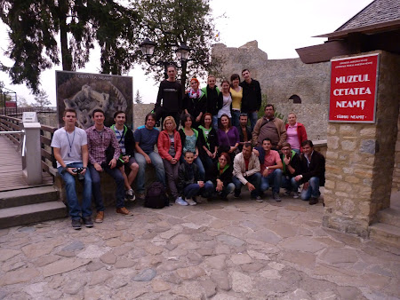 Expeditia #PriNeamt: bloggeri cetatea Neamtului