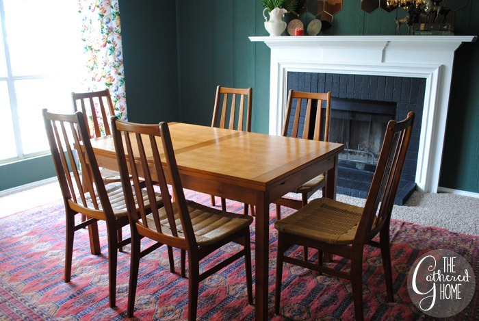 found midcentury teak dining set8