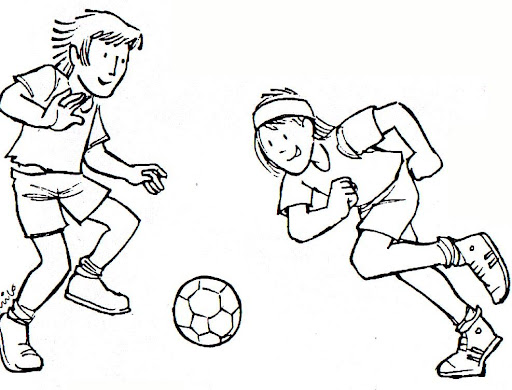 Dibujos De Futbolistas Famosos Para Colorear: FUTBOLISTAS DIBUJOS PARA COLOREAR