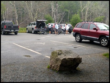 01 - early arrival at Eagle Lake Parking