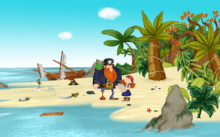 Screenshot of Alizay, pirate girl
