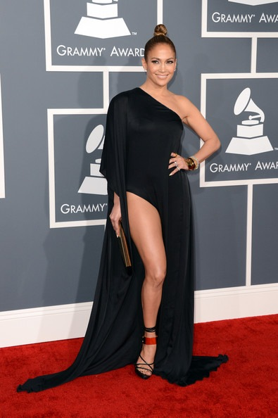 Jennifer Lopez 55th Annual GRAMMY Awards Arrivals