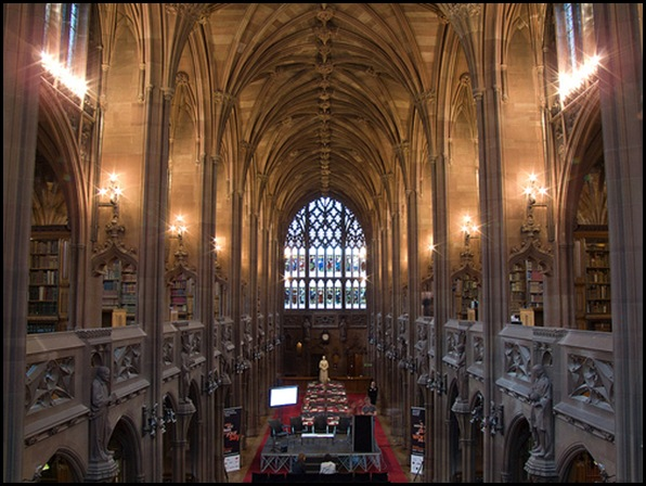 John Rylands Library, Manchester, Angleterre 03