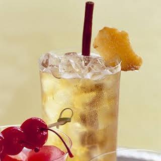 Apple-Ginger Sparklers.