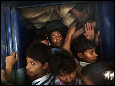 Crowded Compartment