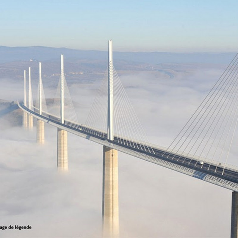 Millau Viaduct, France: the Tallest Bridge in the World