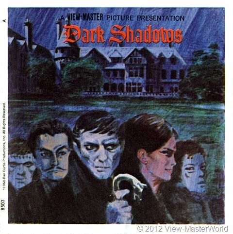 View-Master Dark Shadows (B503), Booklet Cover