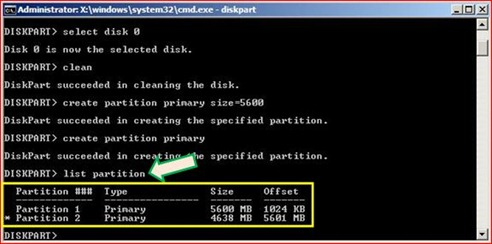 My Technical Knowledge: Using Microsoft Diskpart To Create