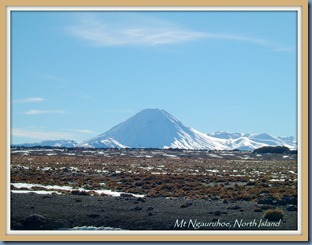 Mt Ngauruhoe, July 2004