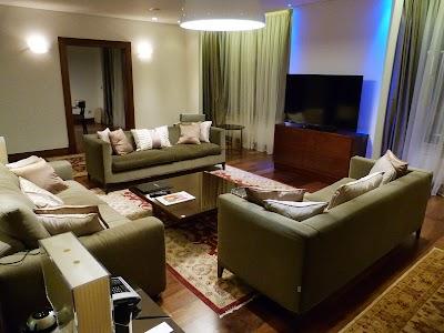 Cazare Cipru: Living apartament prezidential
