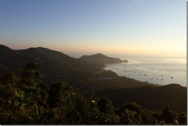 West Coast viewo from Mango View Point, Koh Tao