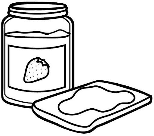 Dibujo de mermelada