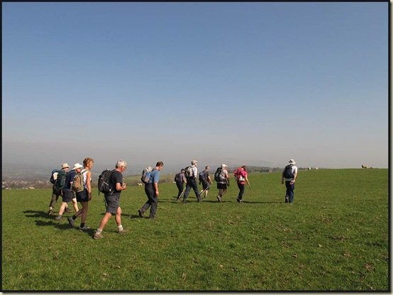 Walkers on the approach to Snodworth