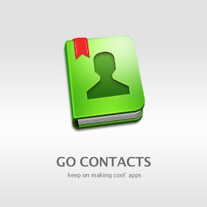 GO Contacts Spring Theme