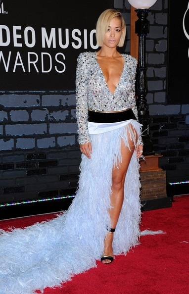 Rita Ora Arrivals MTV Video Music Awards