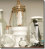 glass jar display