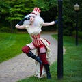 Burlesque Steampunk Circus 4 piece set