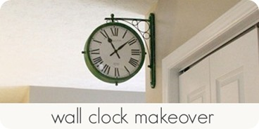 wall clock makeover
