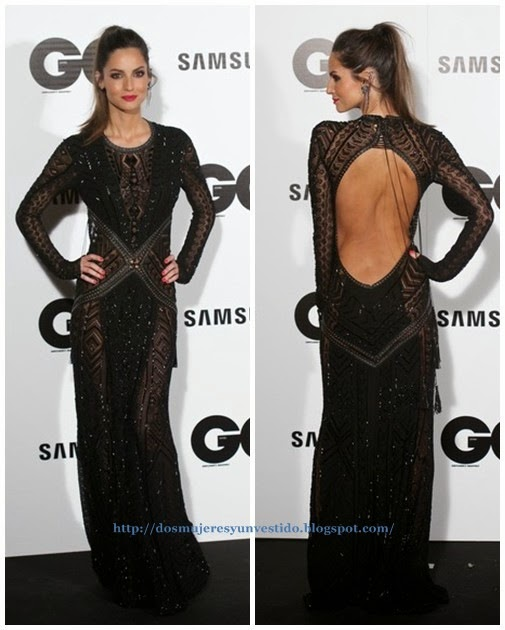 Ariadne Artiles attends the GQ 2014 Men of the Year awards1