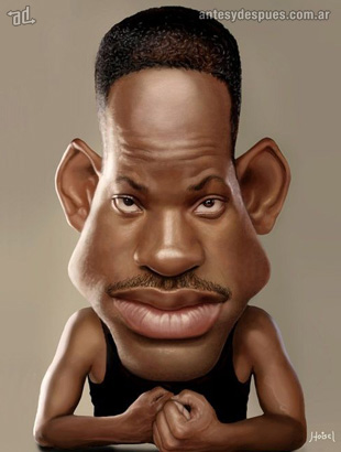 La caricatura de Will Smith