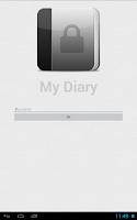 Screenshot of My Diary