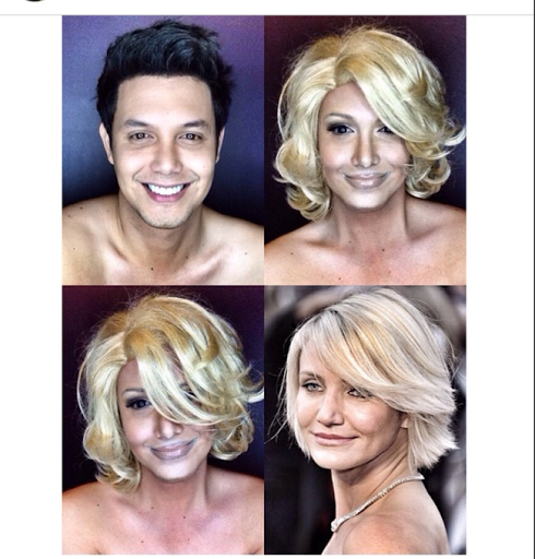PHOTOS: Dad Transforms Himself Into Celebrities Using Makeup And Wigs 43