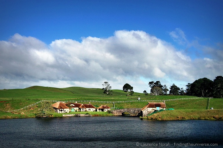 Green Dragon pub and mill in hobbiton new zealand