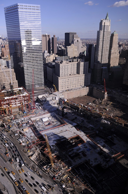 USA CONSTRUCTION AT WORLD TRADE CENTER SITE