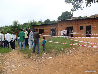 Révision du fichier éléctoral, centre de CEI à l'institut Mabeki