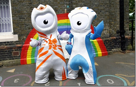 Launch of the London 2012 Olympic and Paralympic mascots