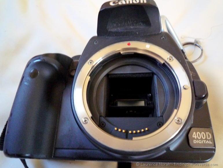 Canon SLR mirror