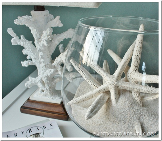 Coral lamp and starfish bowl (800x685)