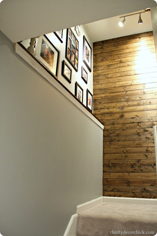 wood planked wall