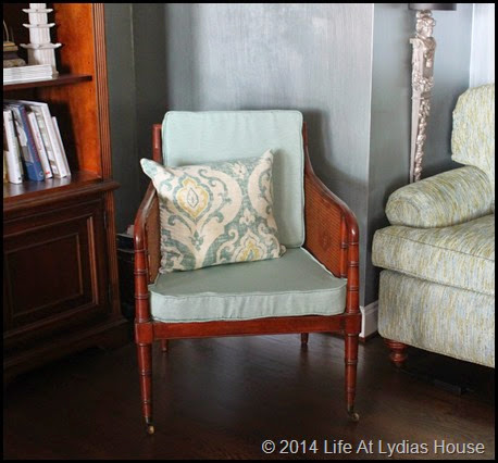 new home for old chair 2