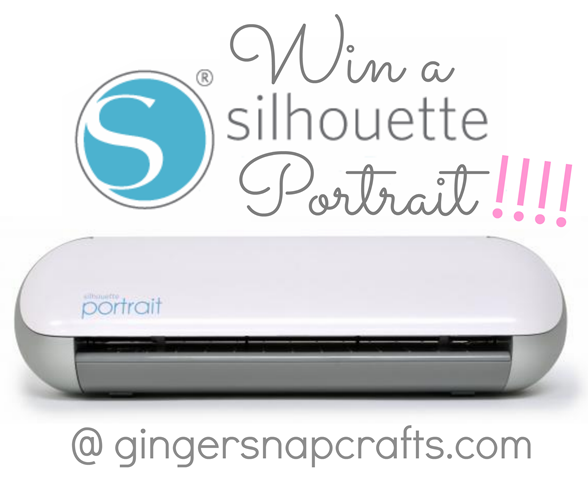 Silhouette Portrait Giveaway at GingerSnapCrafts.com #spon #silhouette #giveaway