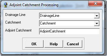 ventana Adjoint Catchment Processing