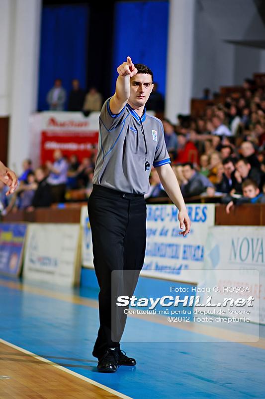 Marius Epure / BC Mureș - U Mobitelco (Playoff M3), 18 aprilie 2012