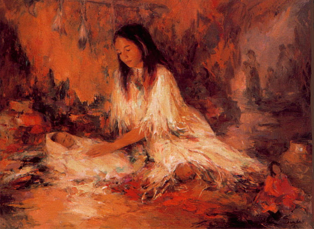 Marilyn Bendell - 1a The Young Mother.jpg