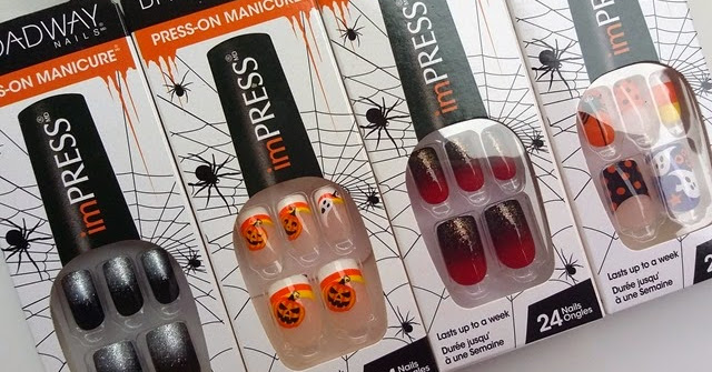 Broadway Nails   Halloween with the imPRESS Press-On ...
