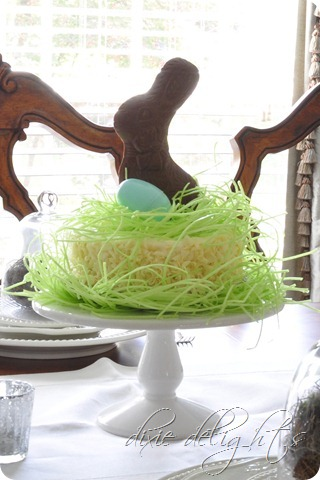 Easter Tablescape Dixie Delights