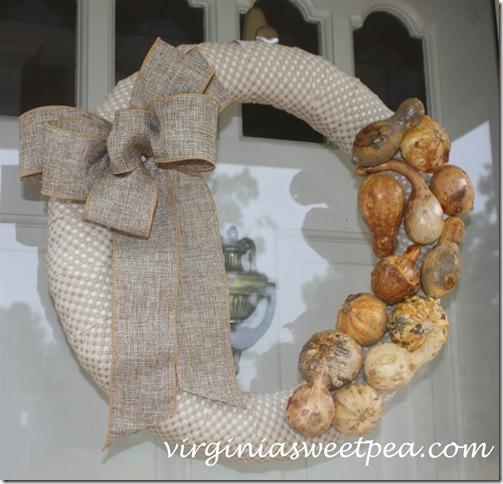 Preserved Gourd Wreath