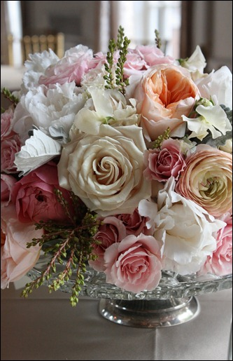 centerpiece 3 blush floral design
