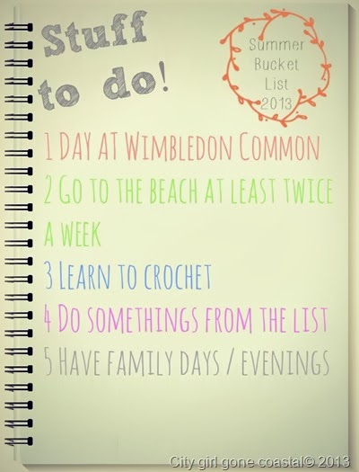 summer bucket list, things to do, activities