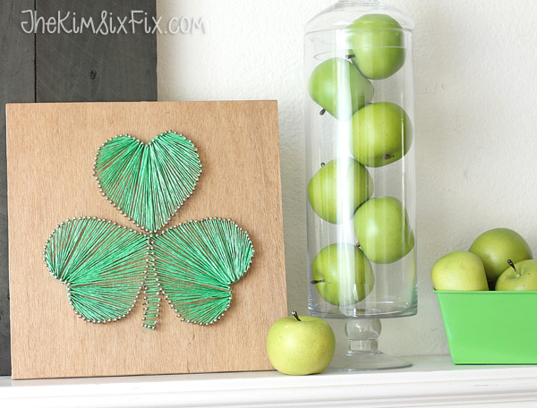 String art st patricks day