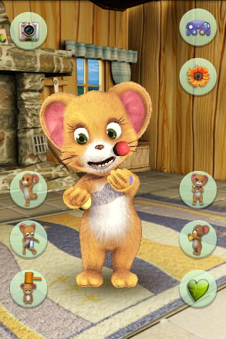 Talking Funny Mouse - screenshot