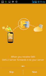 SMS2Server- screenshot thumbnail